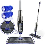 Masthome Spray Mop with 2PCS Microfiber Mop Heads Household Cleaning for Kitchen,Home,Hardwood