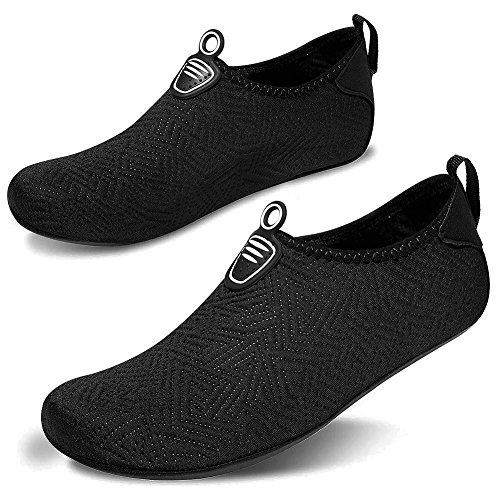 Men Sports Yoga Water Aqua Surf Pool Socks Beach Shoes Msjenny Dry Women Swim Shoes Black Barefoot Quick for Z7w4qS