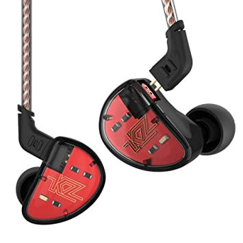 KZ AS10 móviles Hierro Auriculares Diez unidad In-Ear de música auriculares deportivos Balance Hierro