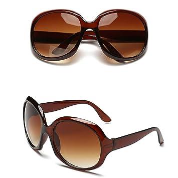 Gafas de sol- 2018 Big Box New Redondas Personalidad Moda ...