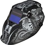 Klutch Variable-Shade Auto-Darkening Welding Helmet with Grind Mode - 700 Series, Matte Gray Metal