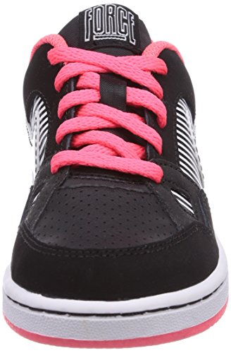 Nike Son Of Force - Zapatillas de deporte Bebé-Niñas Blanco (Black/White-Hyper Punch)