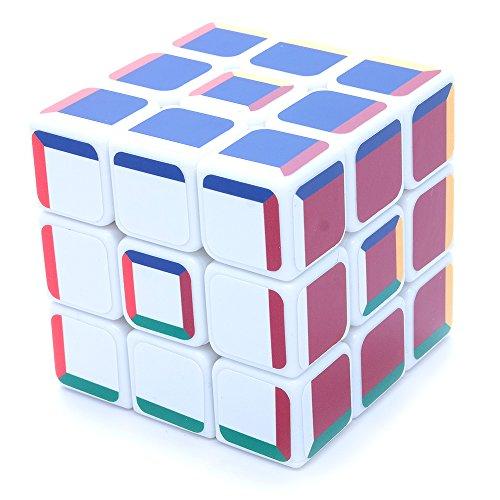 3x3x3 Super Pochmann White Supercube Sticker Mod Twisty Puzzle Cube
