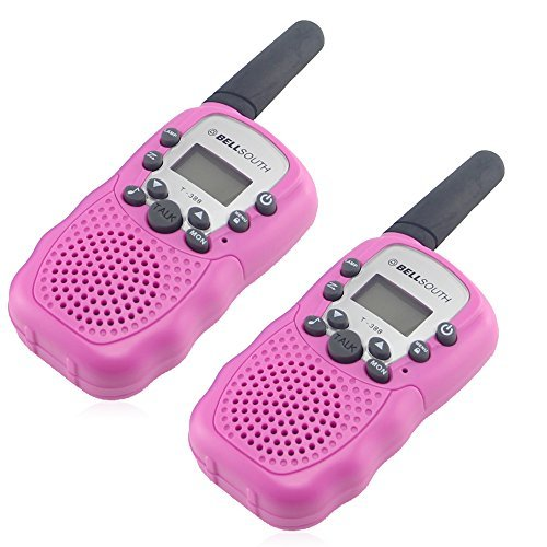 Crony T-388 UHF Band 3KM Small Walkie Talkie Pink (2 pcs)
