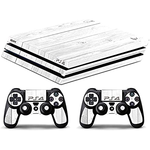 Skin PS4 PRO HD - TEXTURA BLANCO DE MADERA - limited edition DECAL ...