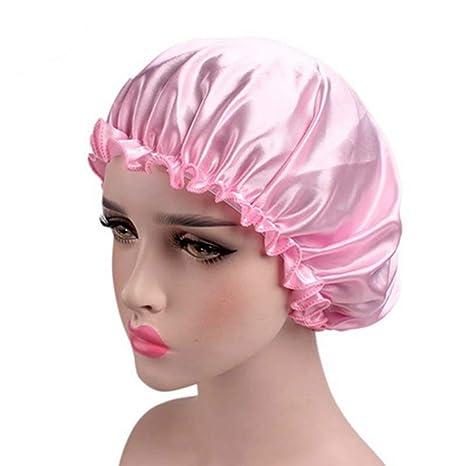 techniques modernes les ventes en gros dernière conception Egurs Bonnet de Nuit Satin Bonnet Silk - Tissu de Luxe ...