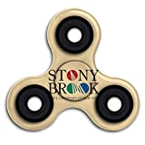 Stony Brook University Logo Fingertip Gyro High Speed Stress 360 Spinner Hand Spinner Anxiety Relief Toys Toy