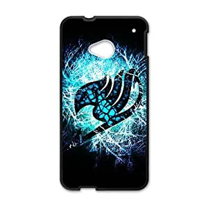 Blue shiny Fairy Tail Cell Phone Case for HTC One M7 hjbrhga1544
