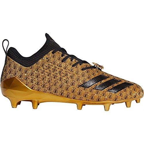 ストロー頂点グラス(アディダス) adidas メンズ アメリカンフットボール シューズ?靴 adiZERO 5-Star 7.0 Snoop Football Cleats [並行輸入品]