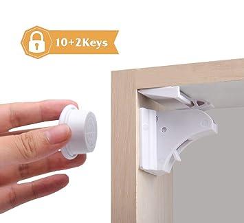 8 x Schranksicherung Magnetische Kindersicherung Schrank und Schubladen