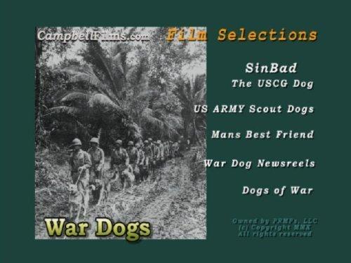 WAR DOGS Army Air Force USAF USCG old Films WW2 Korea Vietnam War DVD by Sinbad
