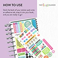 Me /& My Big Ideas Sb-01 Happy Planner Sticker Book Rainbow Foil Create