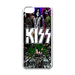 High Quality {YUXUAN-LARA CASE}Kiss Music Band For Iphone 5c STYLE-12