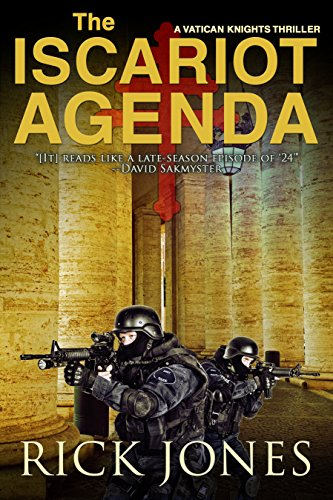 The Iscariot Agenda (The Vatican Knights Book 3) cover
