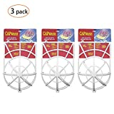 HAIQING Hat Cap Washer Baseball Frame/Washing Cage Hat Cleaner/Cleaning Protector for Washing Machine(3 Pack)