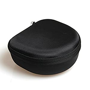 Hard EVA Protective Case Carrying Bag for Ailihen I35 Stereo Lightweight Foldable Headphones Adjustable Headband Headsets Microphone by Hermitshell