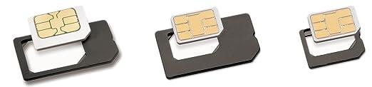 12 opinioni per Phonix SIM3ADT Kit Adattatore per nanoSIM/microSIM/Standard SIM con Chiavetta