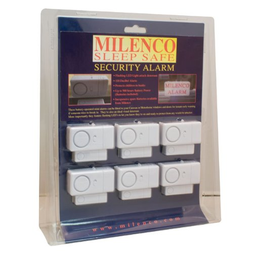 Milenco sleep safe alarm, set of 6.