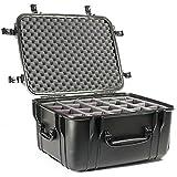 SEAHOR SE1220DBK SE1220 Protective Case w/Adjustable Dividers Black