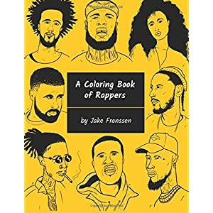 A Coloring Book of Rappers 4
