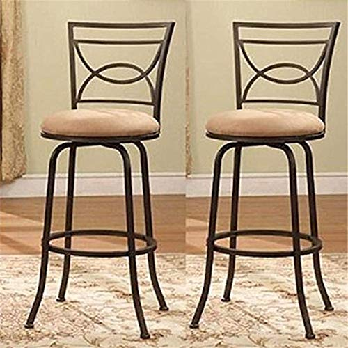 24'h Swivel Counter - OKSLO Bronze adjustable swivel counter height bar stools 24-29 h, set of 2 Model d2737