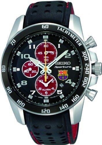 Men's SNAE75P1 FC Barcelona Limited Edition Sportura Quartz Alarm (Sportura Alarm Chronograph)