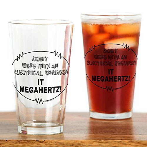 CafePress Electrical Engineer Drinking Glass