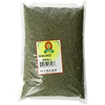 Laxmi Whole Moong, Mung Bean Seeds, 4 Pounds for Cooking & Sprouting