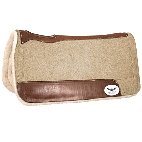 Cactus Saddlery Inc Trevor Brazile Relentless Tan Extreme Gel Saddle Pad by Cactus Saddlery Inc