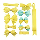Best Barrettes For Toddlers - BonnyGirl Boutique Baby Girls Toddler Hair Bow Clips Review