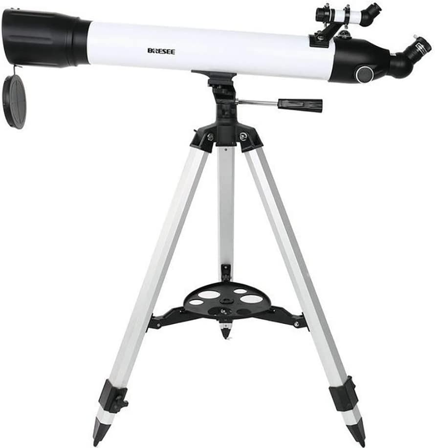 HD Outdoor Landscape Lens Monocular Telescope with Tripod for Beginners Kids Sky Star Gazing Birds Watching White WANGLXST Astronomical Telescope