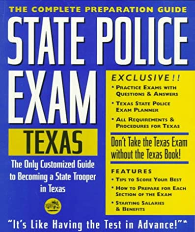 Texas police exam study guide ebook array state police exam texas complete preparation guide learning rh fandeluxe Choice Image