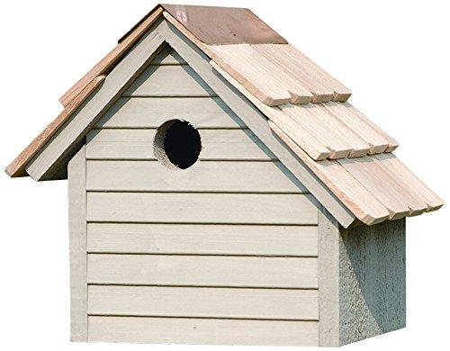 Oct-Avian Bird House in Smoke Grey