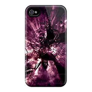 IsFriPo5995bHpyy Case Cover, Fashionable Iphone 4/4s Case - Abstract Shape