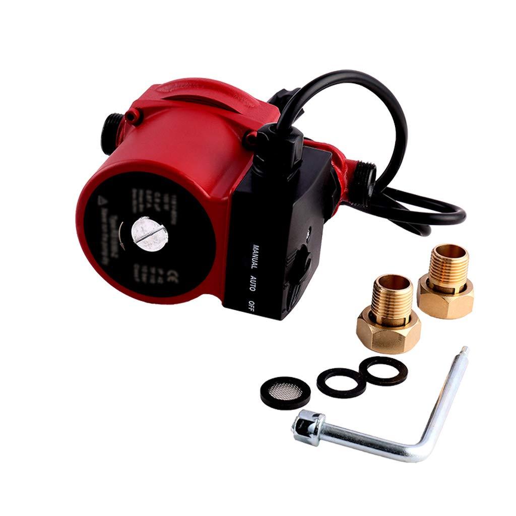 100W//10bar//0.75inch Pompes de chauffage central SHYLIYU 100 W//10 bar Pour syst/ème de chauffage solaire Douche et robinet Pompe de circulation automatique deau chaude
