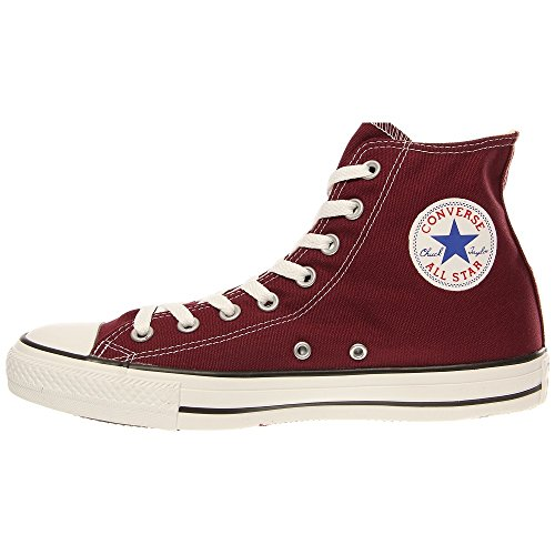 mixte Baskets Hi Ctas Core Rouge Burgundy Converse mode adulte pqX1U