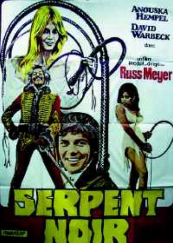 Blacksnake Russ Meyer Anouska Hempel Rare Original Movie Poster French