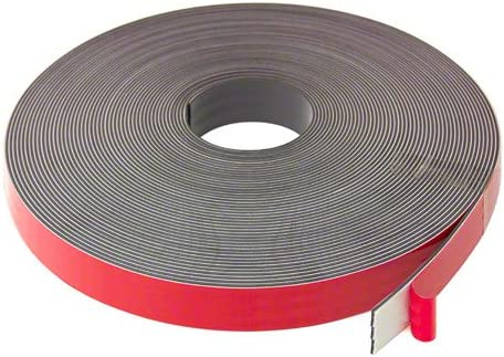 Magnet Expert/® 25.4mm wide x 2.5mm thick Foam Adhesive Magnetic Tape Polarity B 5m length
