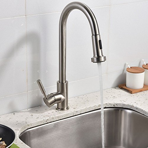 industrial kitchen faucets stainless steel best stainless steel single handle pull out 24395