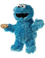 Living Puppets S703 Krümelmonster Sesame Street Handpop, blauw