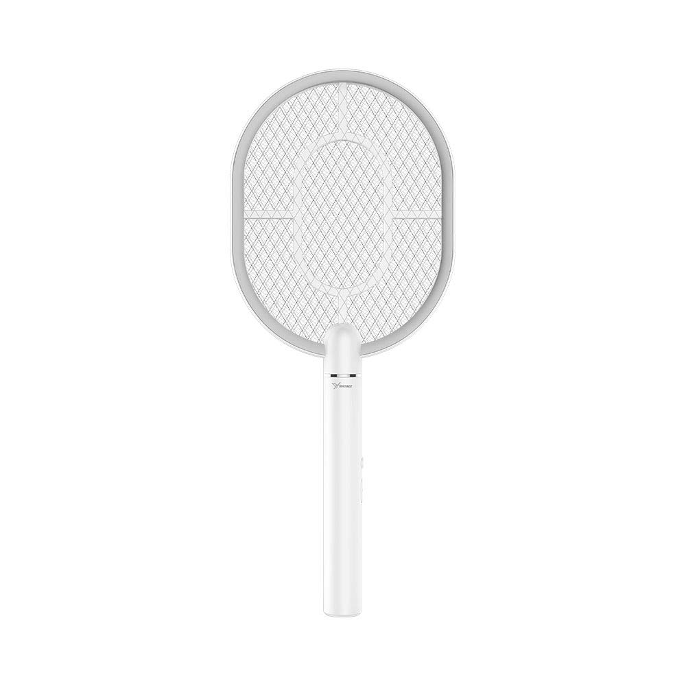 YAGE Electric Fly Swatter, 2700 Volt, Rechargeable Mosquito, 3-Layer Safety Mesh That's Safe to Touch by YAGE