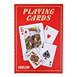 "Gameland Super Jumbo Playing Cards (Humongous 8-1/4"" x 11-3/4"" Cards)"