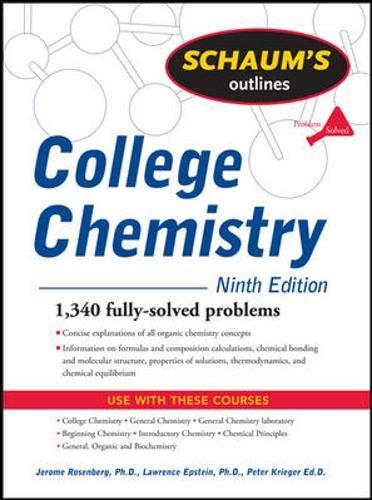 Schaum's Outline of College Chemistry, 9ed (Schaum's Outline Series)