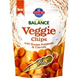 Hill's Science Diet Ideal Balance Adult Sweet Potato and Carrot Veggie Chip Dog Treat Bag, 7.1-Ounce, My Pet Supplies