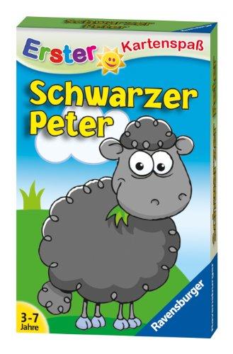 Ravensburger 20432 - Schwarzer Peter Schaf Kinderkarten