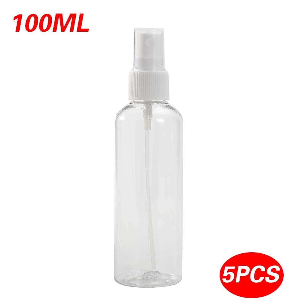 a86148242a32 Amazon.com: 5pcs Refillable Plastic Fine Mist Perfume Spray Bottle ...