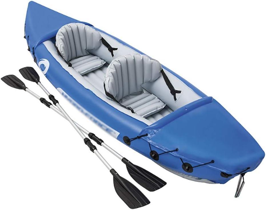 インフレータブルボート、2人厚い漂流ボート、レジャーエンターテインメントインフレータブルボートヨット、アサルトボートインフレータブル釣りボートサイズ:321 * 88 cm