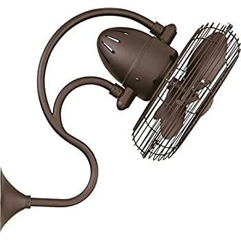 Craftmade 14 Cage Wall Fan W Adjustable Arm Bw414ag3 W