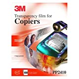 3M PP2410 Transparency Film for Copiers