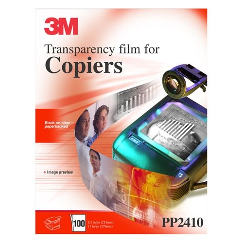 Transparencies Recycled 3m - 3M PP2410 Transparency Film for Copiers